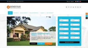 Estate Plus - Responsive Real Estate WP Theme